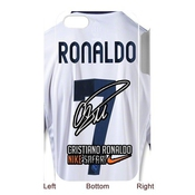 Custom Fc Real Madrid Superstar Cristiano Ronaldo Black Plastic Case For 3d Iphone 5 At Jany Store123 Store