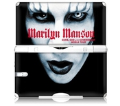 Zing R-volution Ms-mans10013 Nintendo Ds Lite-marilyn Manson Manson-guns Peau