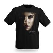 T-shirt Hermione Granger - Emma Watson - Harry Potter & Les Reliques De La Mort - Nowhere Is Safe - Noir