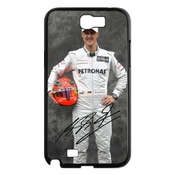 Conception Fia Formula 1 World Championship Michael Schumacher Samsung Galaxy Note 2 N7100 Meilleur Cas Coquille Durable