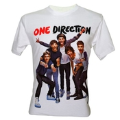 Lectro Homme One Direction 1d Cute Boy Band T-shirt V5