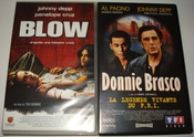 Johnny Depp / Blow - Donnie Brasco [vhs] Cassette Vidéo