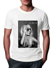 Lady Gaga Poker Face T-shirt - Homme