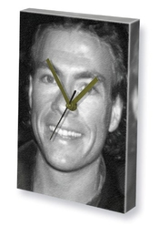 Jean-claude Van Damme - Canvas Clock (a5 - Signed By The Artist) #js001