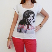 Dalida : T-shirt Imprimé Photo De Star