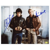 Paul Michael Glaser And David Soul Auto 8x10 Starsky And Hutch Scene Photo