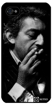 Coque Iphone 4/4s - Serge Gainsbourg - Ref 119