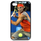 Custom/diy Design Rafael Nadal Spanish Great And Professional Tennis Player The King Of The Clay Theme Plastic Case Cover Rafael Nadal Iphone 4/4s By Dream Catcher Online