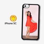 Selena Gomez Red Dress Popstar Singer Coque Pour Iphone 5c A1181