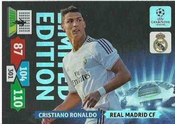 Champions League Adrenalyn Xl 2013/2014 Cristiano Ronaldo 13/14 Limited Edition