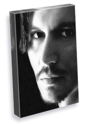 Johnny Depp - Canvas Print (large A3 - Signed By The Artist) #js002