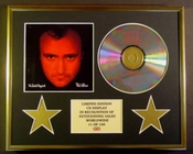 Phil Collins/cadre Cd/edition Limitee/certificat D'authenticite/no Jacket Required