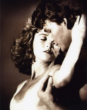 Dirty Dancing (sepia)- Patrick Swayze Movie Poster 11.7