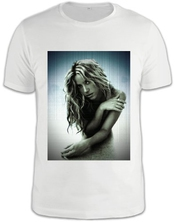 Shakira Pop Singer T-shirt