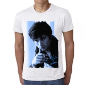 Alain Delon Blue: T-shirt Homme One In The City