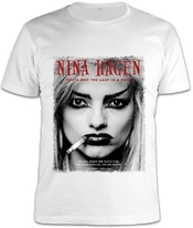 Nina Hagen Punk Lady Portrait T-shirt