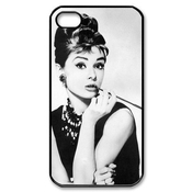 Covermonster Audrey Hepburn Hard Plastic Case Back Cover For Iphone 4 4s