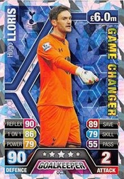 Match Attax Extra 2013/2014 Hugo Lloris Game Changer 13/14