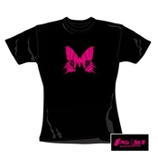 James Blunt - Girl Shirt Butterfly Skinny (in M)