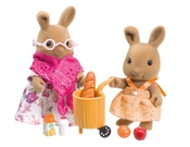 Sylvanian Families - Hazel And Rihanna's Day Out (figurines Et Accessoires)