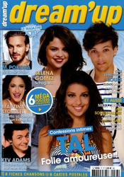 Dream'up; Tal Folle Amoureuse; M.pokora; Martina Stoessel; Kev Adams; Selena Gomez; One Direction Louis; 6 Méga Posters Collectors; + 8 Fiches Chansons Et 8 Cartes Postales