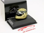 Michael Schumacher 1:8 Scale Replica Helmet 20th Anniversary 2011