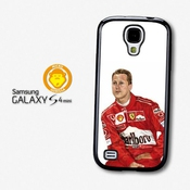 Michael Schumacher Illustration F1 Formula One Driver Coque Pour Samsung Galaxy S4 Mini A2445