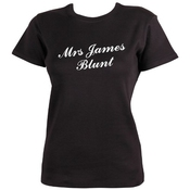 Mrs James Blunt T-shirt By Dead Fresh
