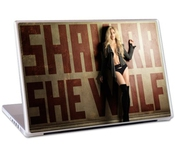 Musicskins Sticker Shakira She Wolf Sticker Pour Macbook Pro Et Pc Portable 17