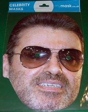 George Michael Celebrity Face Mask