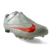 Nike - Cristiano Ronaldo - Chaussure Crampons Foot Hommes - Mercurial Vapor V Fg - Gris/rouge