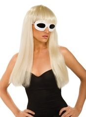Lady Gaga - I-51550 - Déguisement - Perruque - Blonde