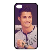 Custom Cristiano Ronaldo Cool Waterproof Apple Iphone 4 And 4s Tpu Case Cover Idol Mobile Phone Cases