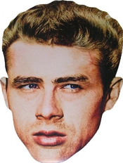 Hollywood Star - James Dean - Card Face Mask