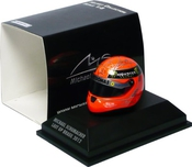 Michael Schumacher 1:8 Scale Replica Helmet Last Gp In Brazil