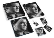 Steven Seagal - Original Art Gift Set #js001 (includes - A4 Canvas - A4 Print - Coaster - Fridge Magnet - Keyring - Mouse Mat - Sketch Card)