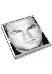 Steven Seagal - Original Art Coaster #js004