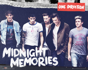One Direction Poster Midnight Memories