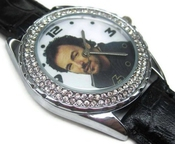 Montre-bracelet Montre Femmes Cadeau Noël Sus195 New Leather Diamond Crystal Watch / Bruce Springsteen 2