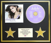 Dalida/cadre Cd/edition Limitee/certificat D'authenticite/glamorous