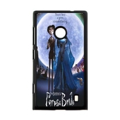 Custom Cartoon Love Music Style Movie Tim Burton's Corpse Bride Fashion Cell Phone Hard Plastic Cover Case (hd Image) For Nokia Lumia 520