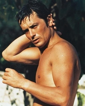 Alain Delon 36x28cm Photo Couleur
