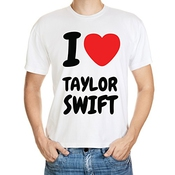 Bulldogshirts I Love Taylor Swift T-shirt Homme