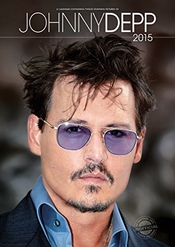 Calendrier 2015 Johnny Depp