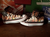 Converse Custom - Chaussures Coutume (produit Artisanal) One Direction