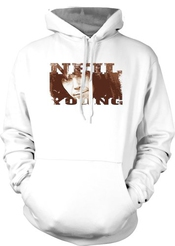 Neil Young Folk Rock Legend Hommes Hoodie