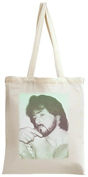 Dam Apparel Sylvester Stallone Sexy Portrait Tote Bag
