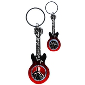 Porte Cles Guitare Johnny Rouge