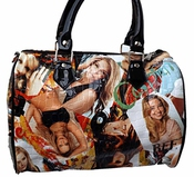 Sac à Main Bowling Sac Polochon Fashion Shakira