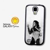 Michael Jackson Microphone King Of Pop Coque Pour Samsung Galaxy S4 Mini A2656